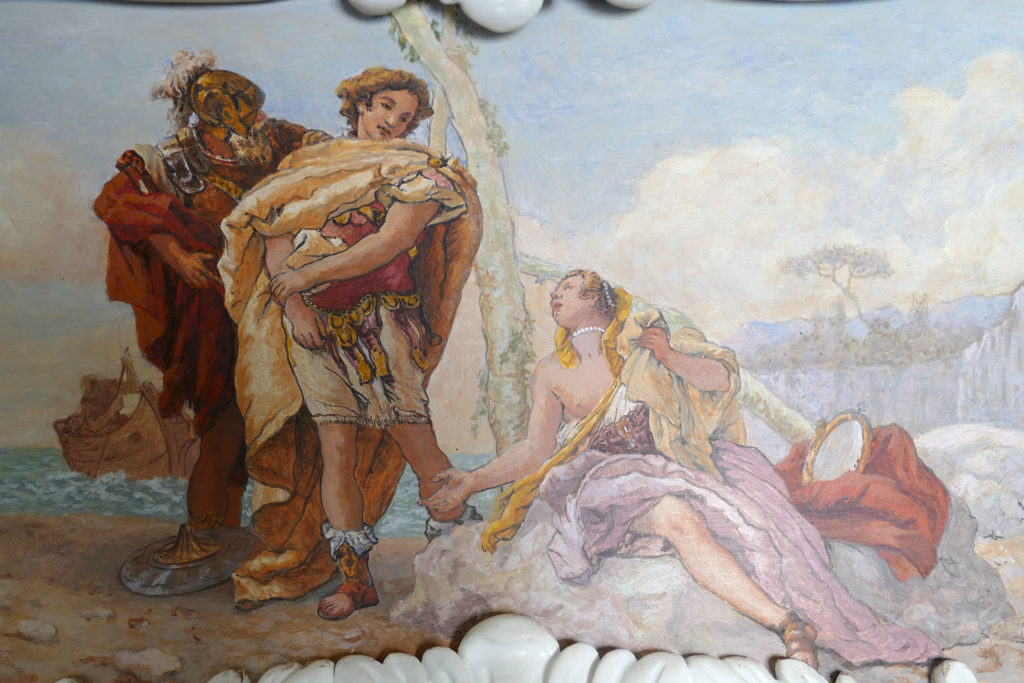 detail commode Tiepolo