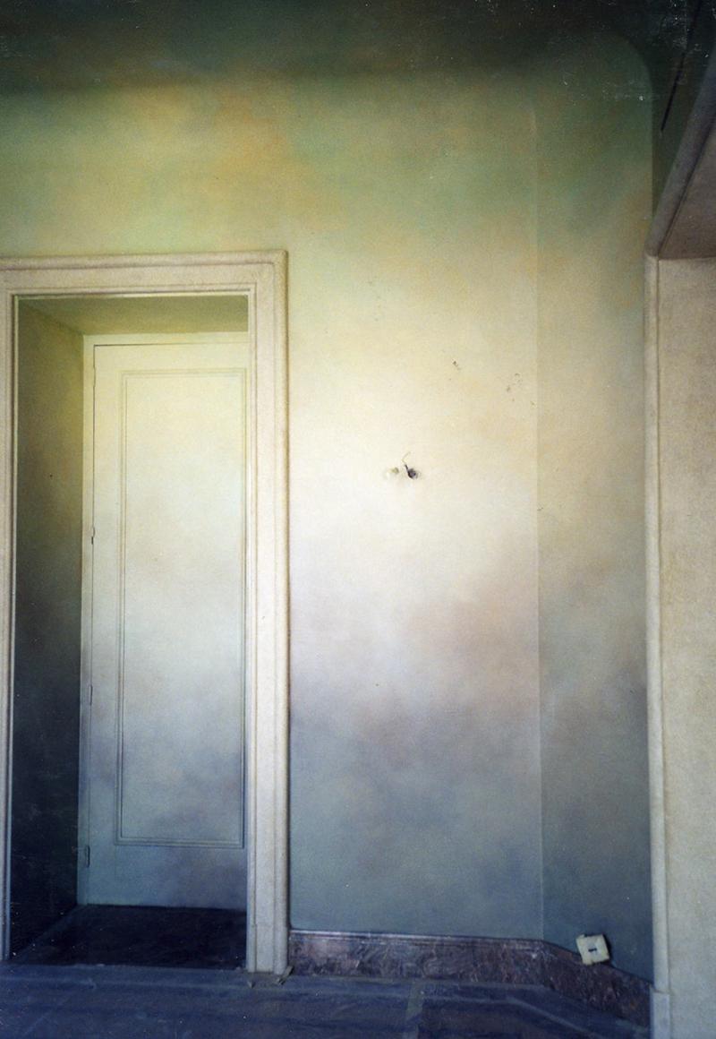 Patine , murs de chambre