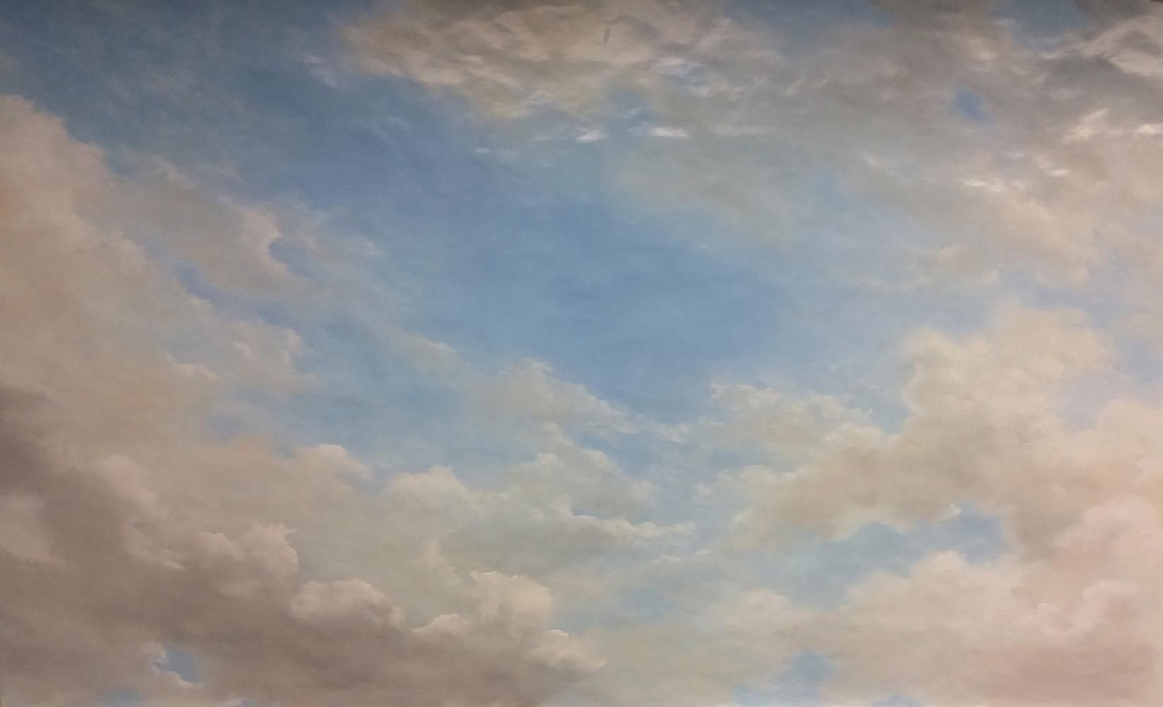 Maquette ciel pour plafond peint