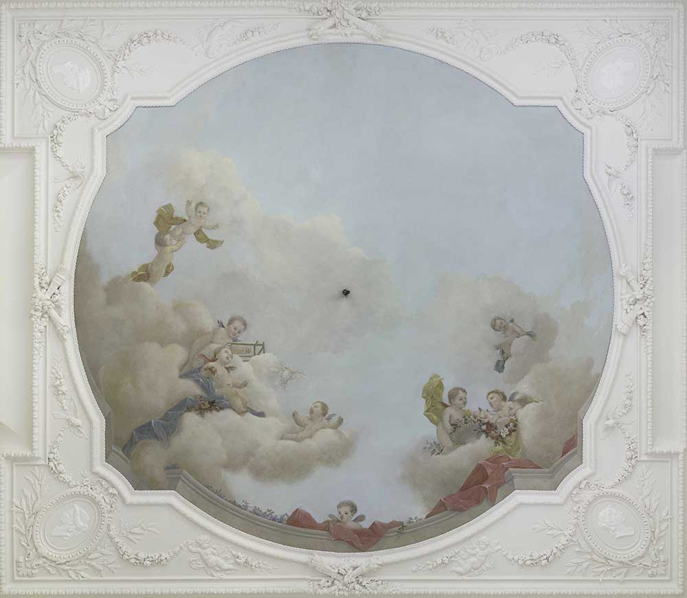 Legion Honneur plafond peint Faustin Besson