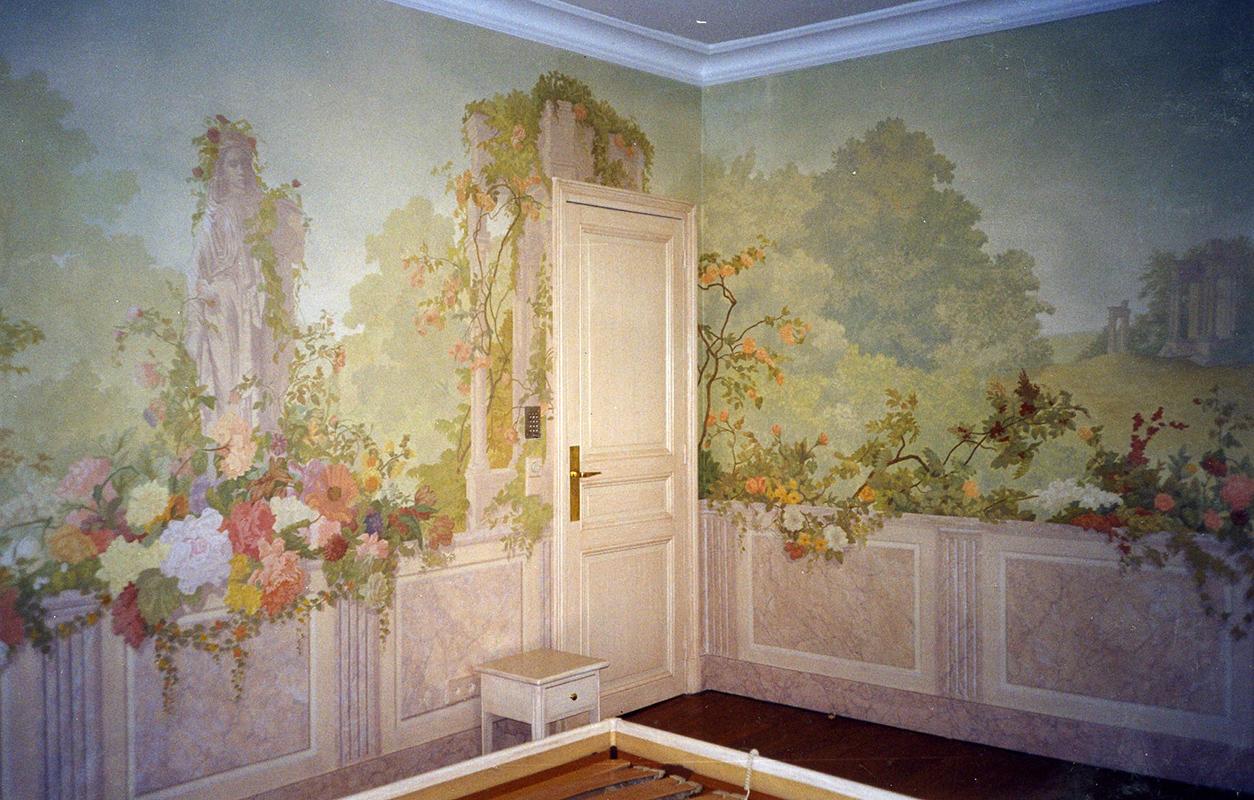 Papier Peint Trompe L Oeil Plafond 9-trompe-l'oeil-papier-peint-zuber-decoration-chambre