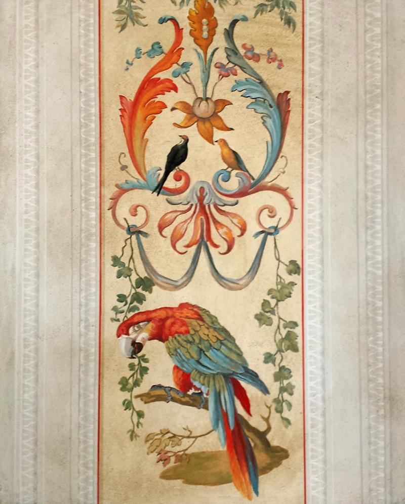 Ornementation fresque peinture